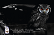 Fridge Magnet - 'Hibou' Southern White Faced Scops